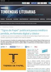 Entrevista a TDP, el proyecto, por Viktor Gómez Ferrer para Tendencias21